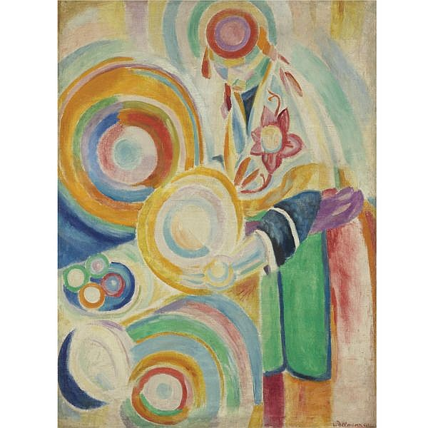 Robert Delaunay , 1885-1941 Portugaise au potiron Oil on linen