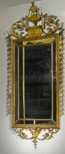 A PAIR OF GEORGE III GILTWOOD MIRRORS, CIRCA 1790  