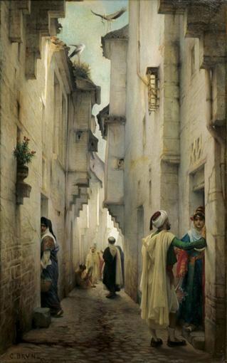 GUILLAUME-CHARLES BRUN MONTPELLIER 1825 - PARIS 1908