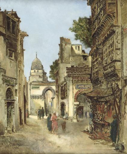 GODEFROY DE HAGEMANN NAPLES 1820 - PARIS 1877