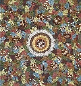 MICHAEL NELSON TJAKAMARRA BORN CIRCA 1949 KANGAROO STORY AT WANTAPI 1988 224 by 212cm Synthetic polymer paint on linen Bears artist's name and Papunya Tula Artists catalogue number MN880559 on the reverse Provenance: Painted in 1988 for Papunya Tula