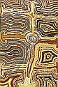 NORA WOMPI NUNGURRAYI BORN CIRCA 1935 TJARTAJIRRA 1993 75 by 49.5 cm Synthetic polymer paint on canvas Bears artist's name, size and Warlayirti Artists catalogue number 3/93 on the reverse together with exhibition label Provenance: Painted in 1993 at, Nora Wompi Nungurrayi, Click for value