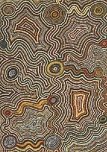 TJUMPO TJAPANANGKA BORN CIRCA 1930 WANGAPANTA 1990 120 by 85 cm Synthetic polymer paint on canvas Bears artist's name, size and Warlayirti Artists catalogue number 72/90 together with exhibition label on the reverse Provenance: Painted in 1990 at