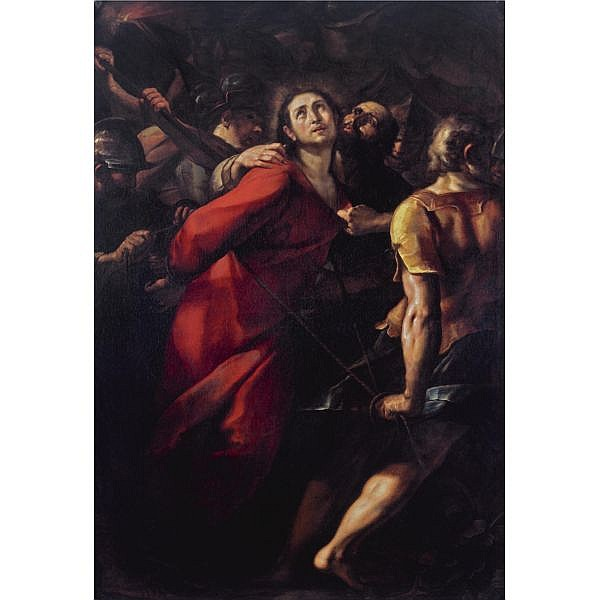 Giulio Cesare Procaccini , Bologna 1574 - 1625 Milan The Capture of Christ oil on canvas