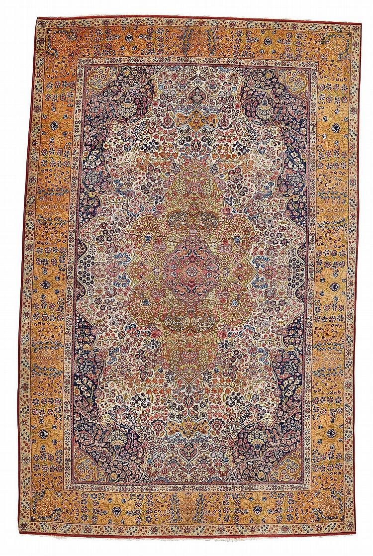 A KIRMAN CARPET, SOUTHEAST PERSIA |