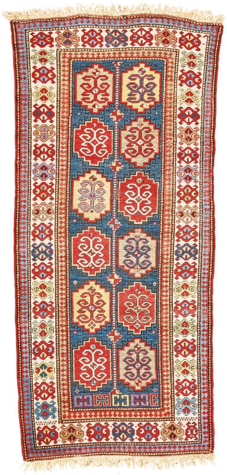 A KAZAK LONG RUG, WEST CAUCASUS |