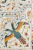 A CHINESE SILK EMBROIDERED PANEL, FOR EUROPEAN (PROBABLY PORTUGUESE OR SPANISH) EXPORT MARKET |