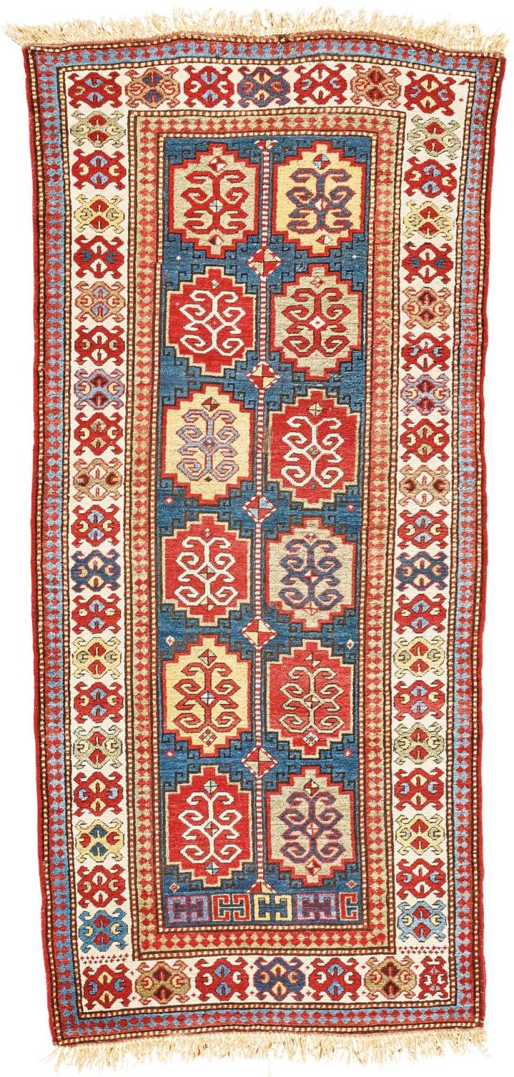 A KAZAK LONG RUG, WEST CAUCASUS |