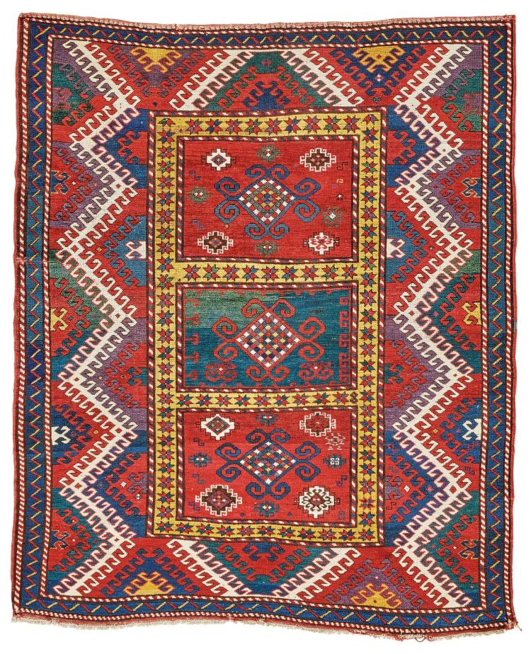 A BORDJALOU KAZAK RUG, WEST CAUCASUS |