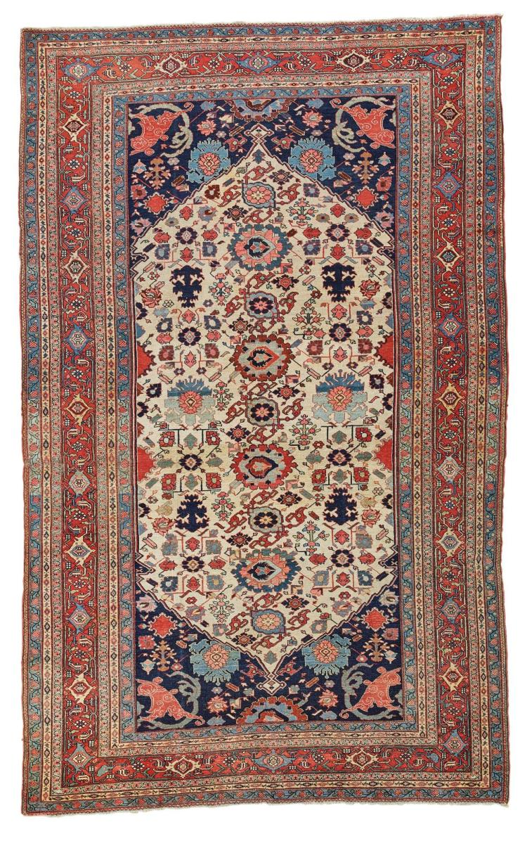 A SMALL BIDJAR CARPET, NORTHWEST PERSIA |
