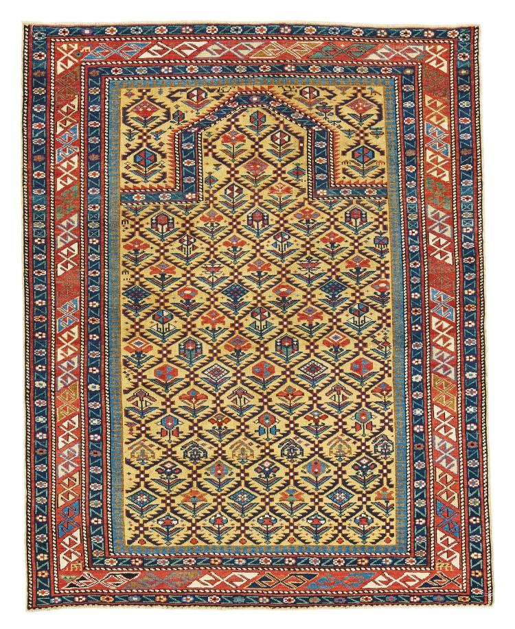 A DAGHESTAN PRAYER RUG, EAST CAUCASUS |
