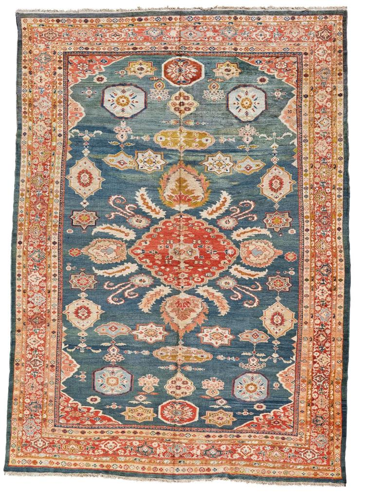 A ZIEGLER CARPET, NORTHWEST PERSIA |