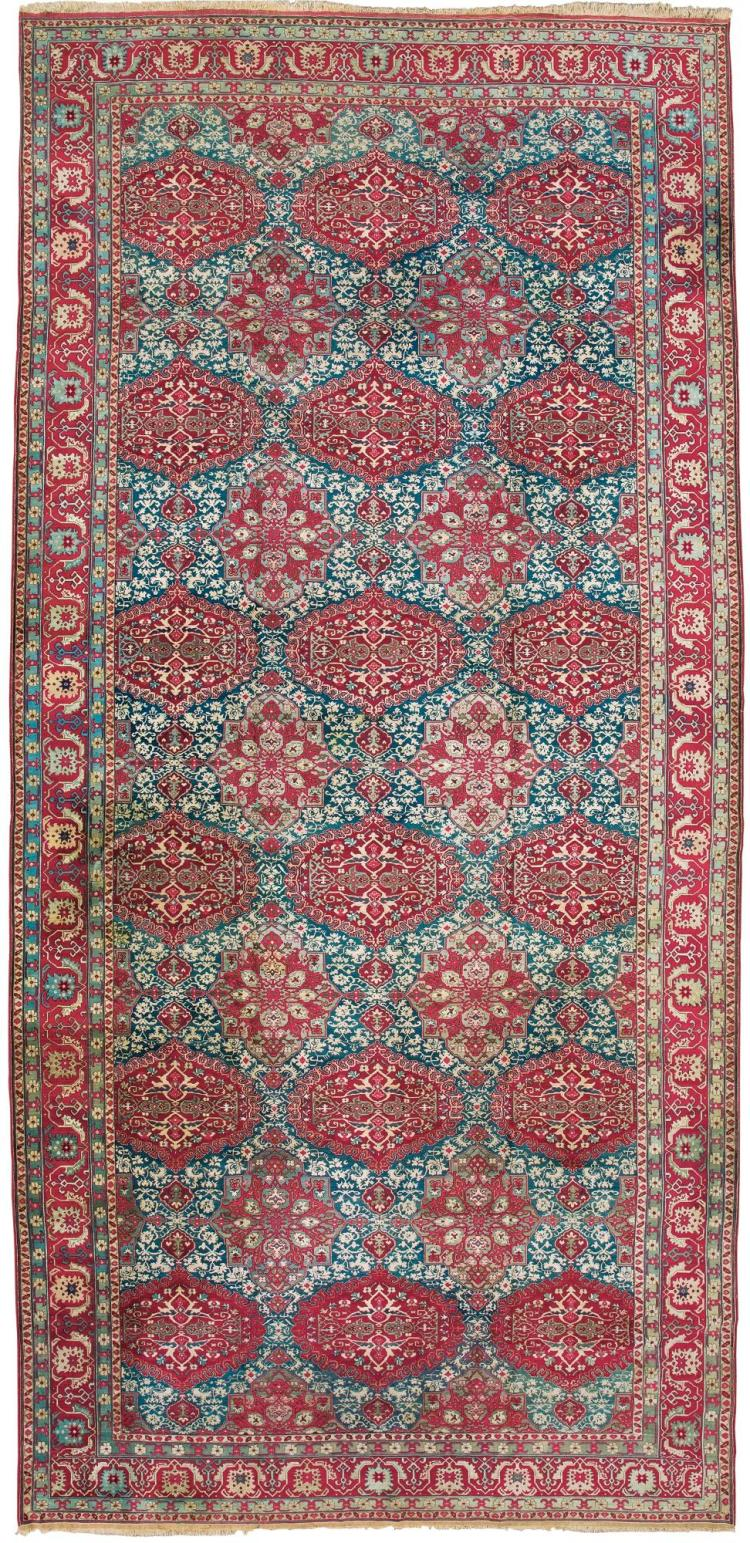 AN AGRA CARPET, NORTH INDIA |