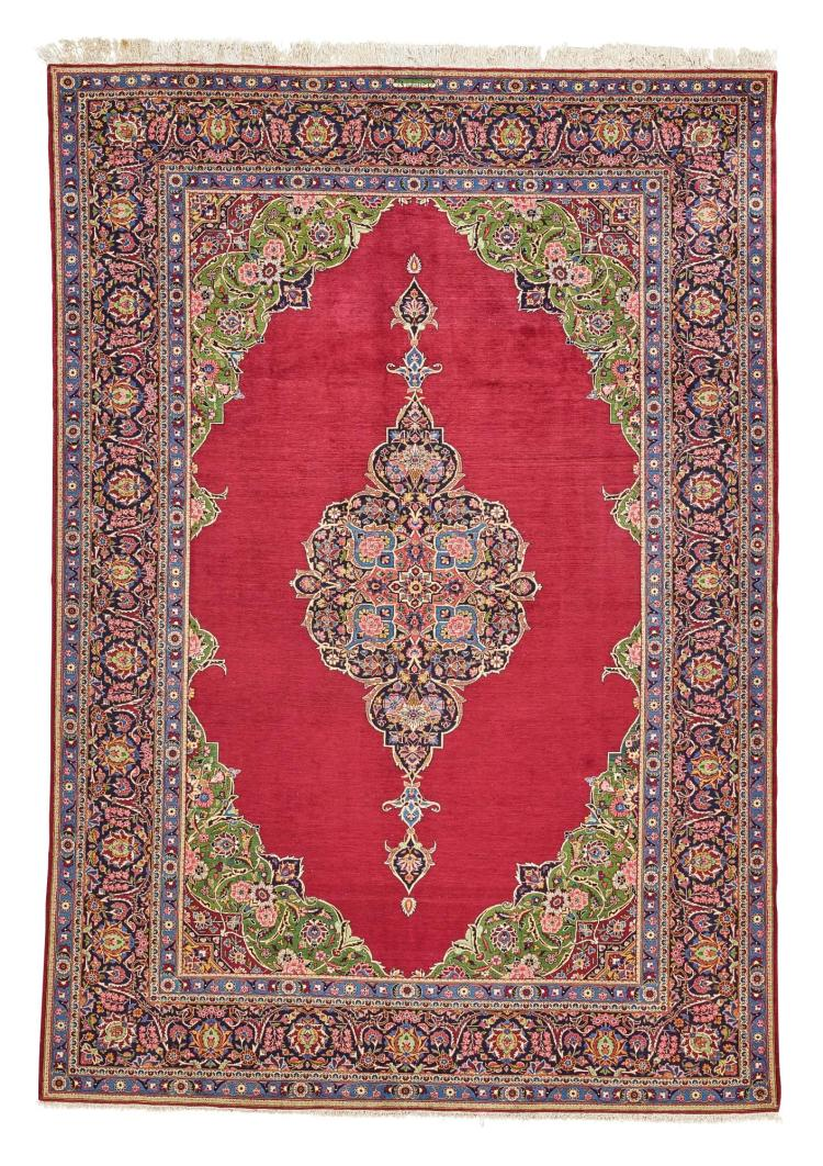 A KASHAN CARPET, CENTRAL PERSIA |