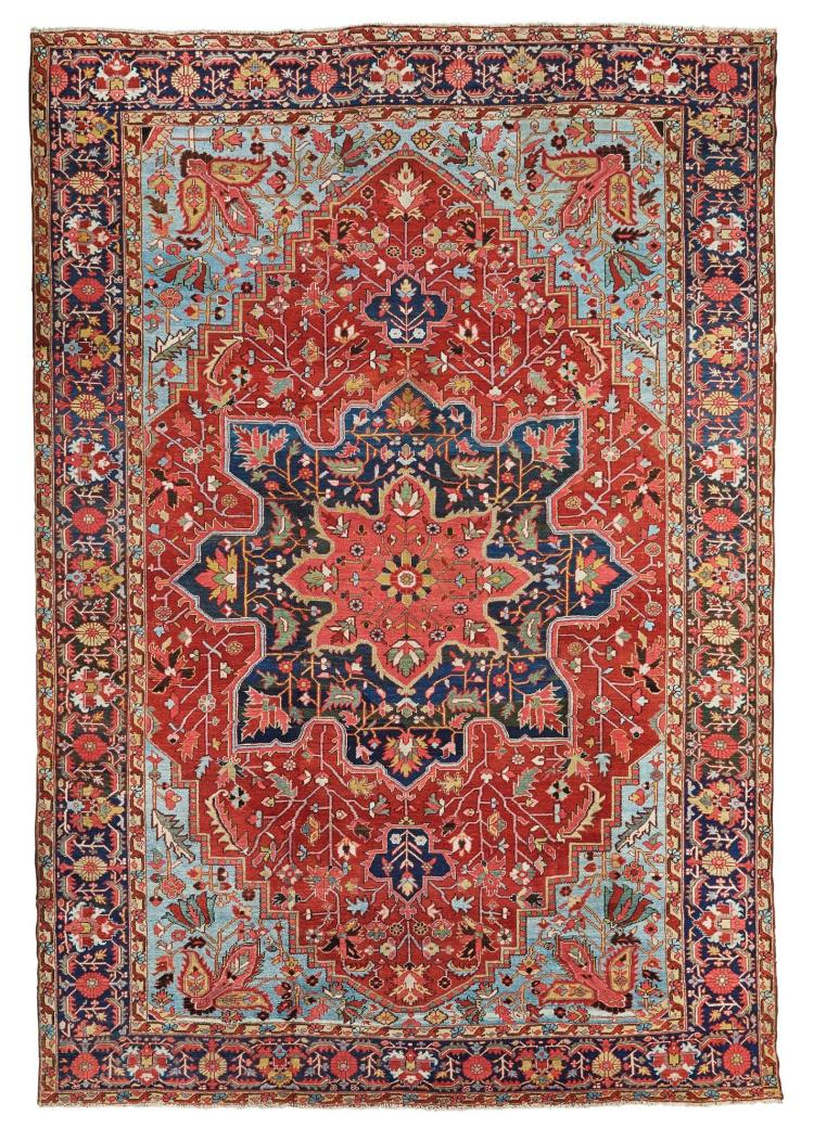 A HERIZ CARPET, NORTHWEST PERSIA |