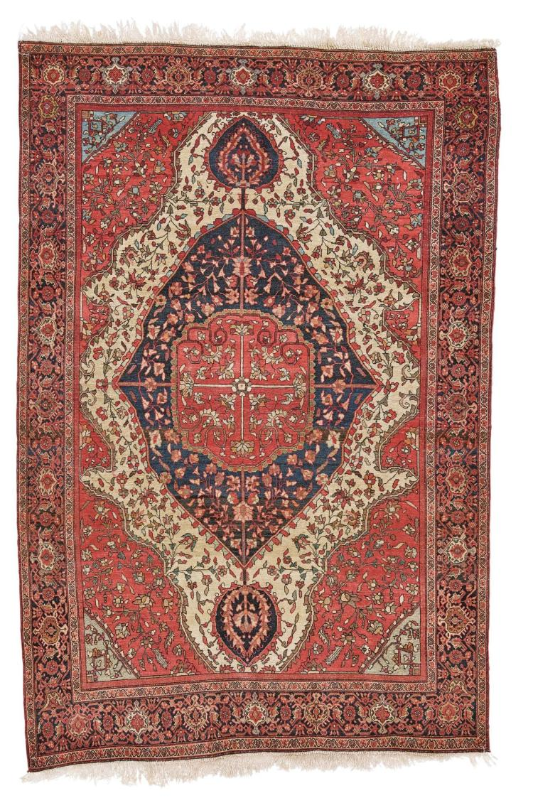 A SAROUKH RUG, CENTRAL PERSIA |