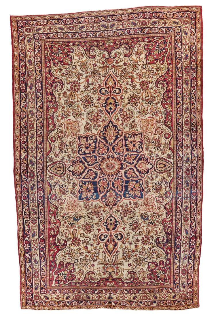 A KIRMAN LAVAR CARPET, SOUTHEAST PERSIA |