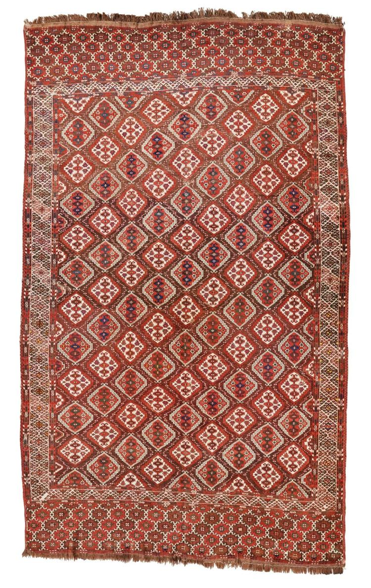 A CHODOR CARPET, WEST TURKESTAN |