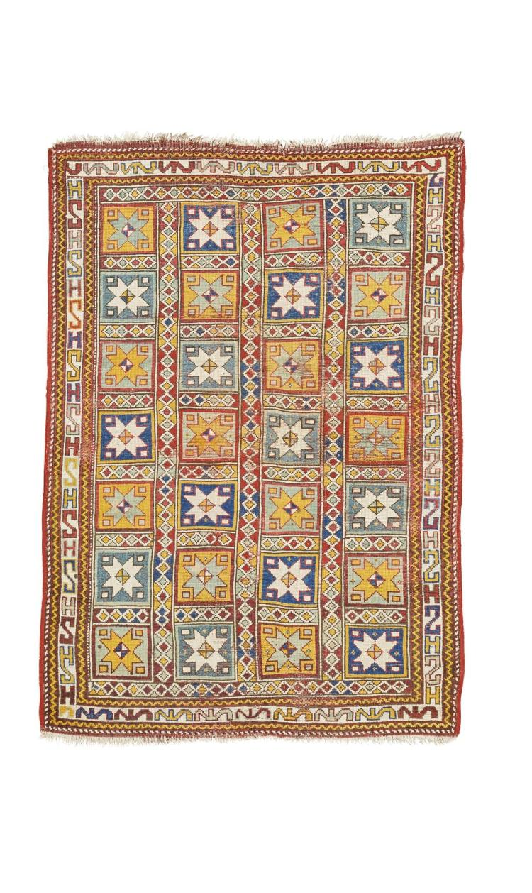 A 'STAR' GUL RUG, WEST ANATOLIA, POSSIBLY BERGAMA |