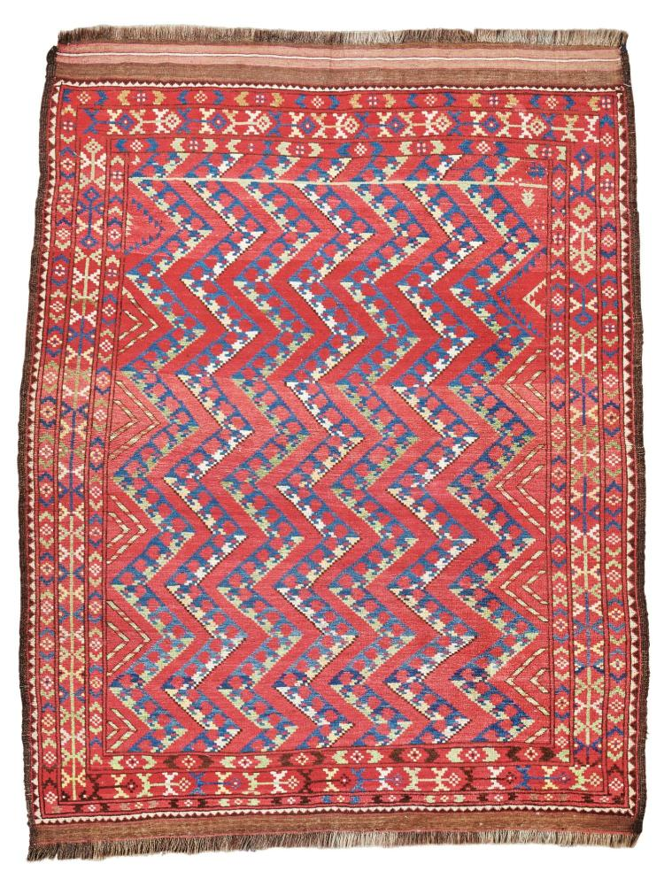 AN ERSARI RUG, WEST TURKESTAN |