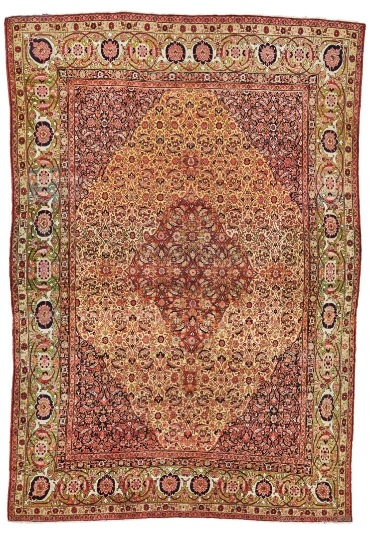 A KHORASSAN CARPET, EAST PERSIA |