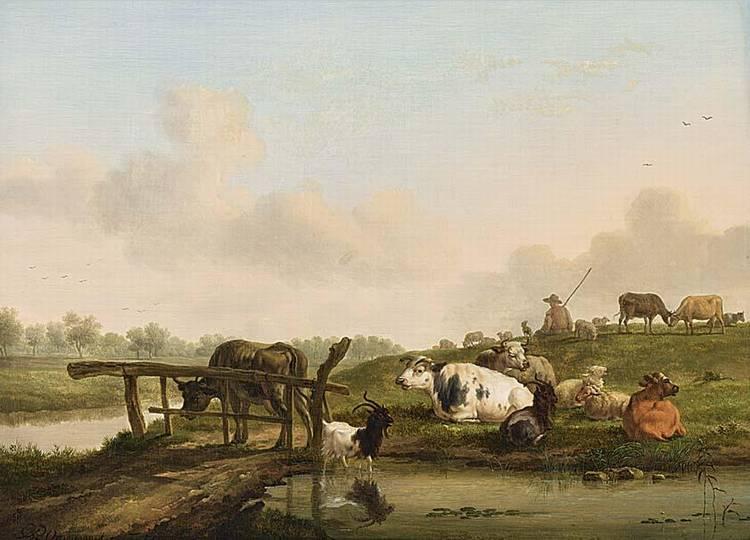BALTHASAR PAUL OMMEGANCK, BELGIAN,1755-1826