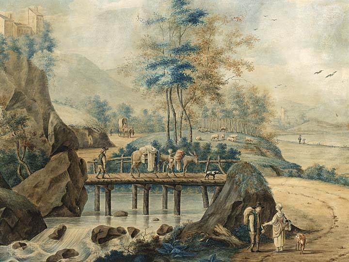 PIETER DE GOEJE DUTCH 1789-1859