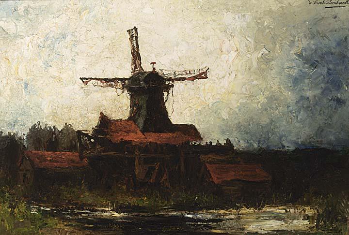 FREDERIK WILHELM ZÜRCHER DUTCH 1835-1894