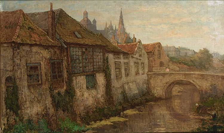 FRANS SLAGER DUTCH 1876-1953