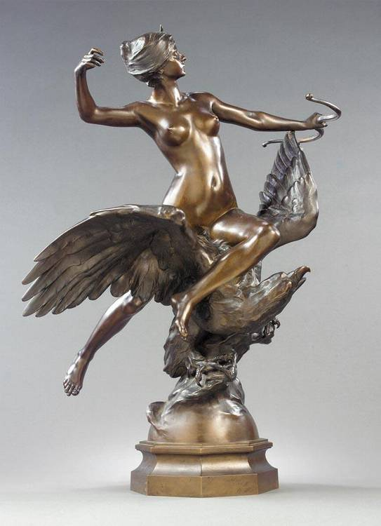 GEORGES-MARIE-VALENTIN BAREAU FRENCH, 1866-1931