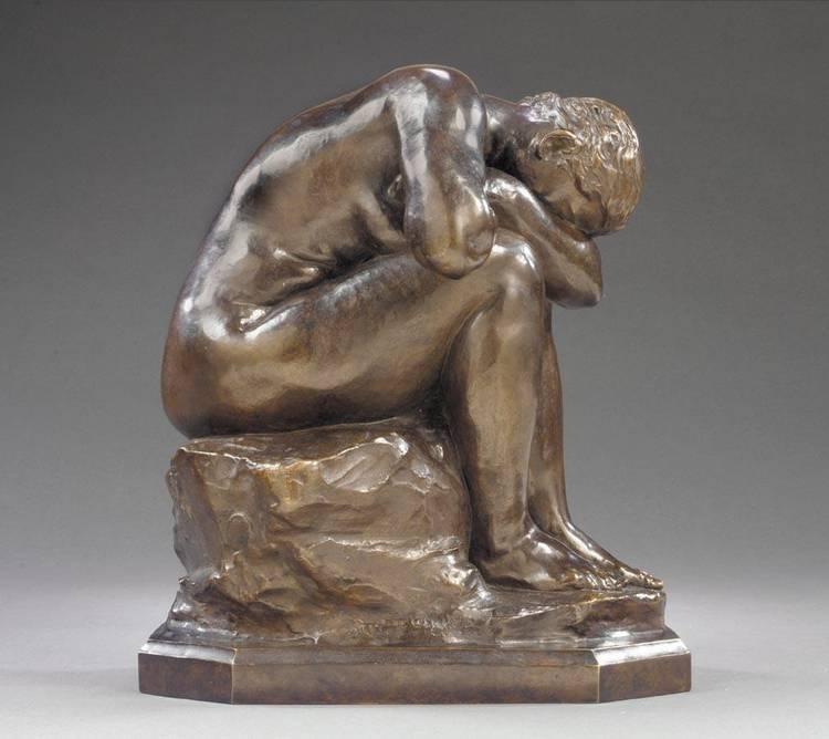 AIMÉ-JULES DALOU FRENCH, 1838-1902