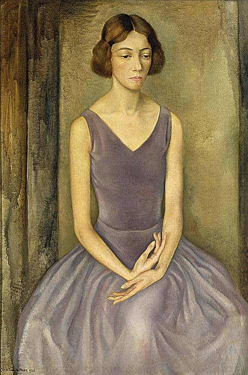 CHRIS DE MOOR DUTCH 1899-1981 A PORTRAIT OF DINI VAN ESSEN; TOGETHER WITH A PORTRAIT OF D.L.G. VAN