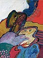 JAN COBBAERT BELGIAN 1909-1995 TWO FIGURES, Jan Cobbaert, Click for value