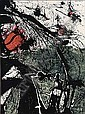 CLAUDE VISEUX B. 1927 ABSTRACT COMPOSITION, Claude Viseux, Click for value