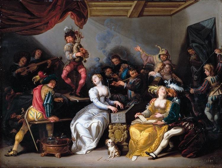 SIMON DE VOS ANTWERP 1603 - 1676