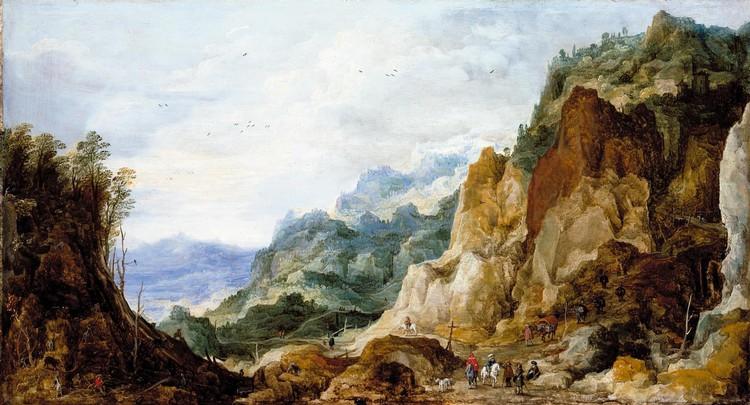JOOS DE MOMPER ANTWERP 1564 - 1635