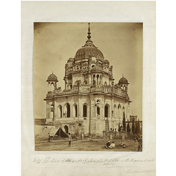 Felice Beato (circa 1830-circa 1904) , 'Lucknow', 1858. An album of 75 photographs documenting the aftermath of the Mutiny of 1857