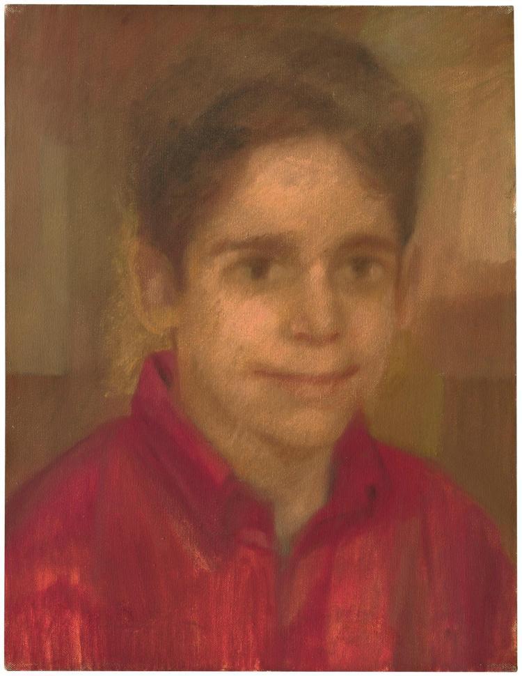 HELEN KHAL   Untitled (Portrait of a Boy)