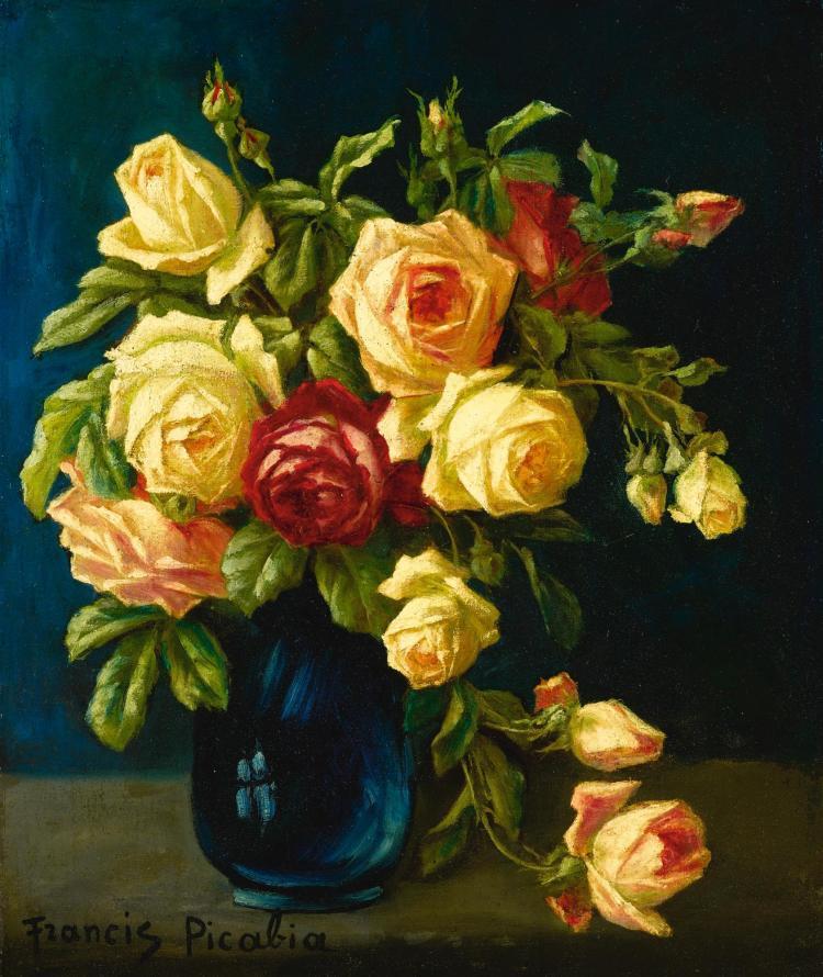 Francis picabia bouquet de fleurs for Bouquet de fleurs wine