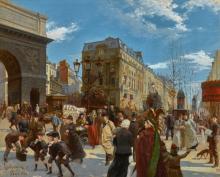 MANFRED LINDEMANN-FROMMEL | The Porte Saint Martin