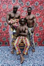 LEONCE RAPHAEL AGBODJELOU | Untitled, Musclemen series, 2012