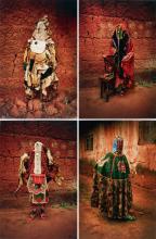 LEONCE RAPHAEL AGBODJELOU | Untitled, Egungun series, 2011