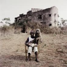 PIETER HUGO | Abdullahi Ahmadu with Emeka, Ibusa, Nigeria, The Hyena and Other Men series II, 2007
