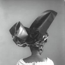 J.D. 'OKHAI OJEIKERE | Untitled HG-0423-05, Headties Series, 1975