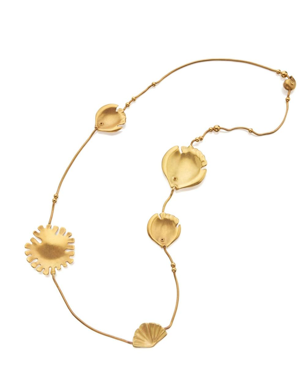 GOLD NECKLACE, ANGELA CUMMINGS FOR TIFFANY & CO.