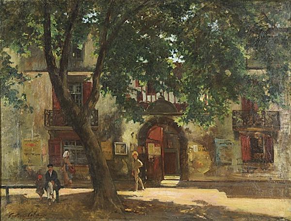 GUSTAVE HENRI COLIN 1828-1910