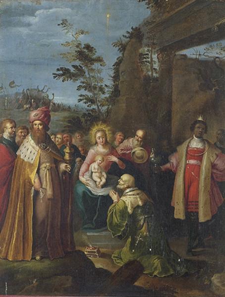 STUDIO OF FRANS FRANCKEN THE ELDER HERENTALS 1542 - 1616 ANTWERP
