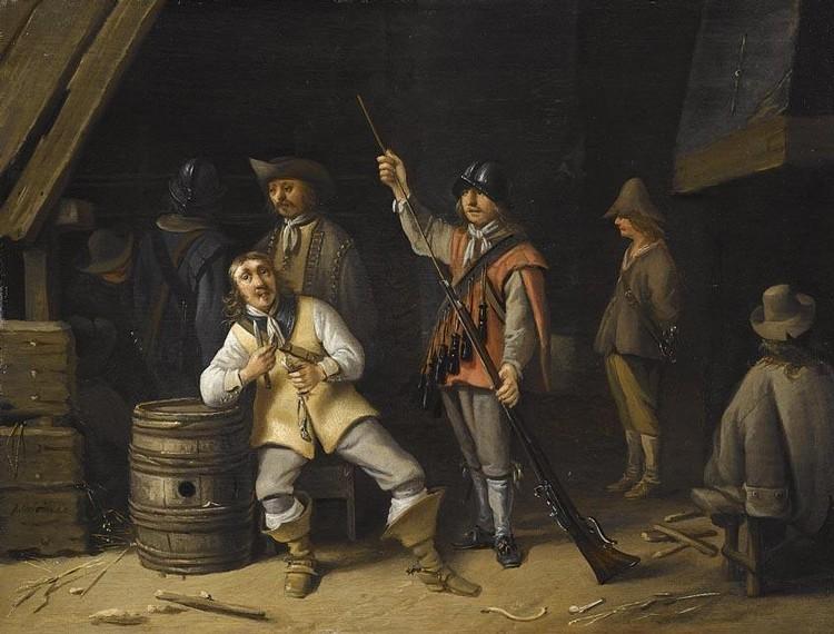 ANTHONIE PALAMEDESZ. DELFT 1601 - 1673 AMSTERDAM