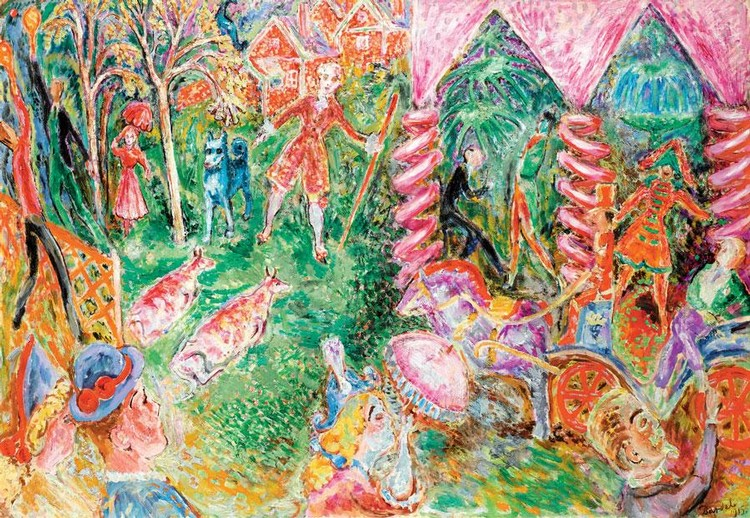 NILS DARDEL SWEDISH, 1888-1943
