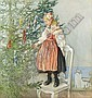 CARL LARSSON SWEDISH, 1853-1919, Carl Larsson, Click for value